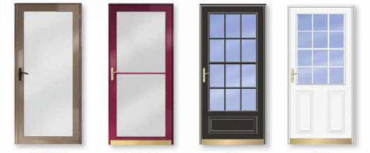 OPTIONS Storm Doors